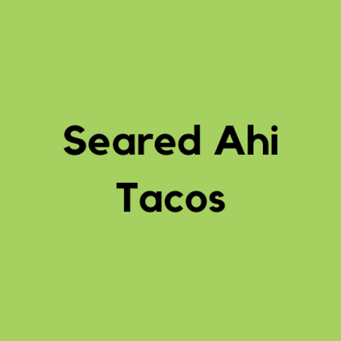 Seared Ahi Tacos- AVAILABLE THURS-SUN 4-8 PM