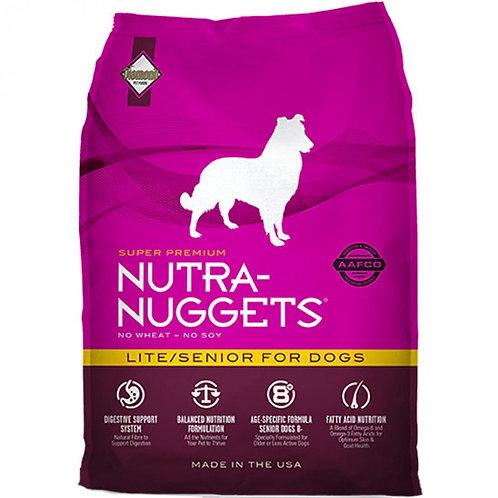 NUTRA NUGGETS LITE/SENIOR 3 Kg