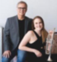La trompette au piano: Georges Allyson et Marie-Pier Descôteaux