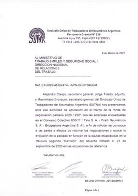 REVISIÓN PARITARIA