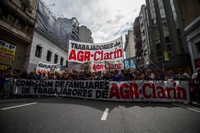 Total solidaridad y apoyo a los trabajadores de AGR-CLARIN