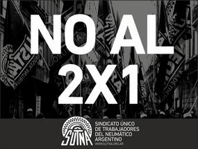No al 2 X 1