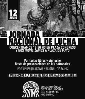 #12J Jornada nacional de lucha