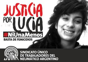 Justicia por Lucia #NiUnaMenos