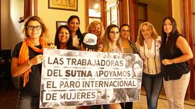 8 de Marzo: Apoyamos la lucha de la Mujer Trabajadora