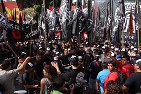 Gran columna del SUTNA junto a los sindicatos combativos