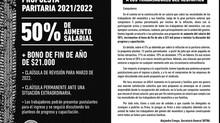 PROPUESTA PARITARIA 2021/2022