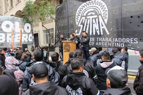 Paritarias: Movilización frente a la Sec. de Trabajo