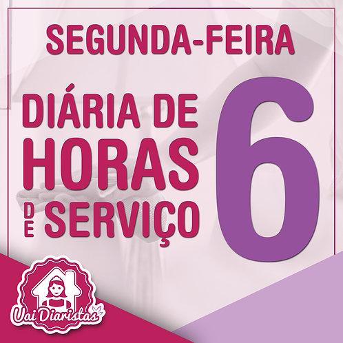 Pacote de 6 horas de Serviço - 2º Feira