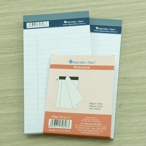 Sổ xé Notepad - PN9-17