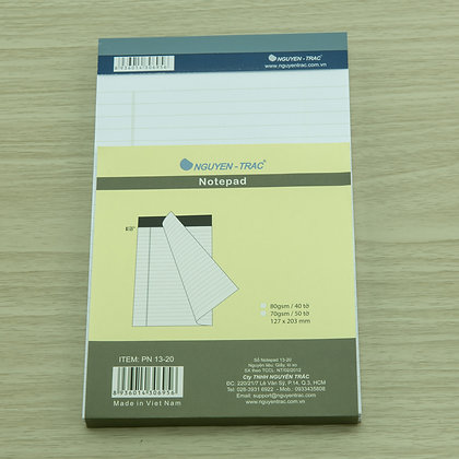 nguyen trac, hobby shop, accessories, notepad