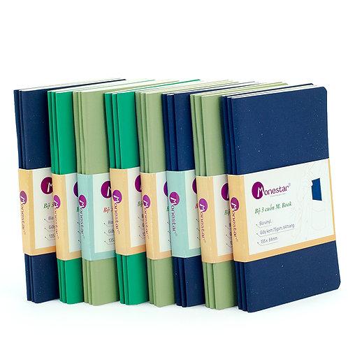 Bộ 9 cuốn sổ tay Monestar M. Book MB01