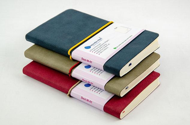 stylish notebook, nguyen trac, beige paper, fashion accessories