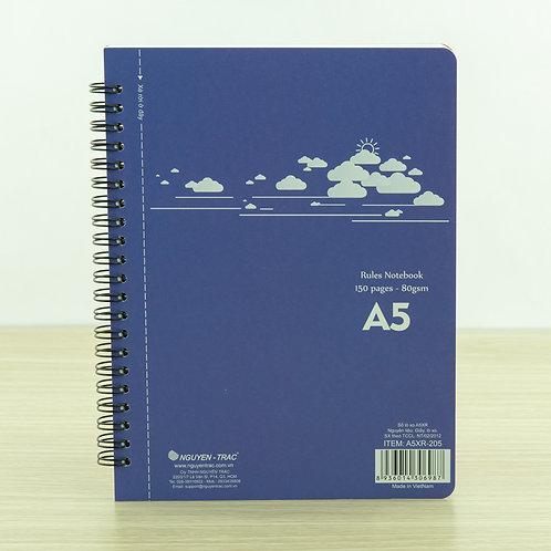 Sổ xé A5 lò xo - A5XR-205