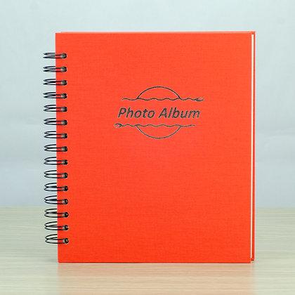 photo album book, spiral binding, nguyen trac vietnam
