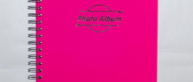 nguyen trac, photo album book, spiral bound, brw572