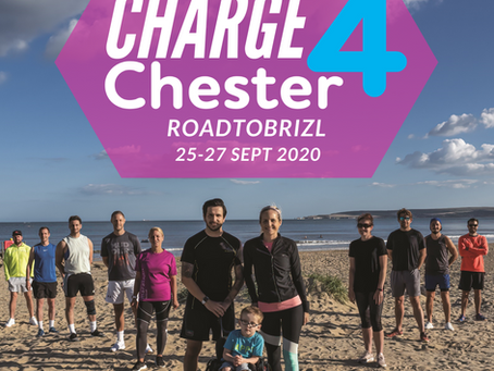 Charge4Chester - Poole to Bristol... on foot... in just 3 days!