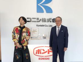 コニシ株式会社様、巨大画納品決定!