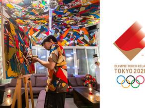 東京オリンピック2020、聖火ランナーに選ばれました!