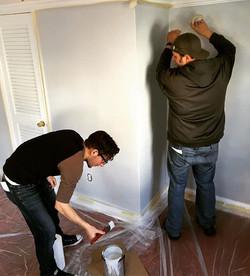 Some walls deserve to be painted.jpg Set design for #deadgiveaway2017