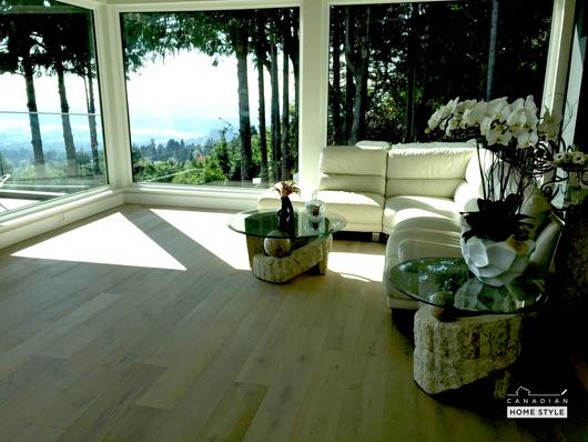Brushed White Oak - Wide Planks Engineered Hardwood