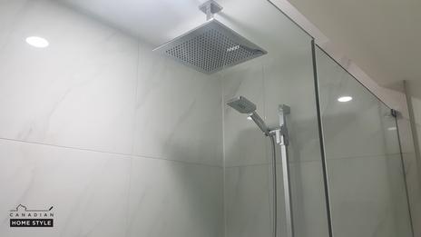 Custom Shower Renovation
