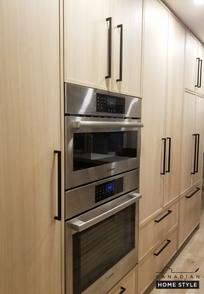 Integrated Fridge Cabico Custom Cabinetry