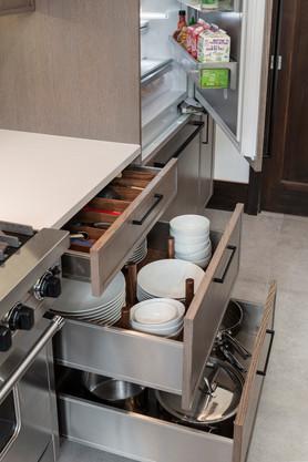 Custom drawers