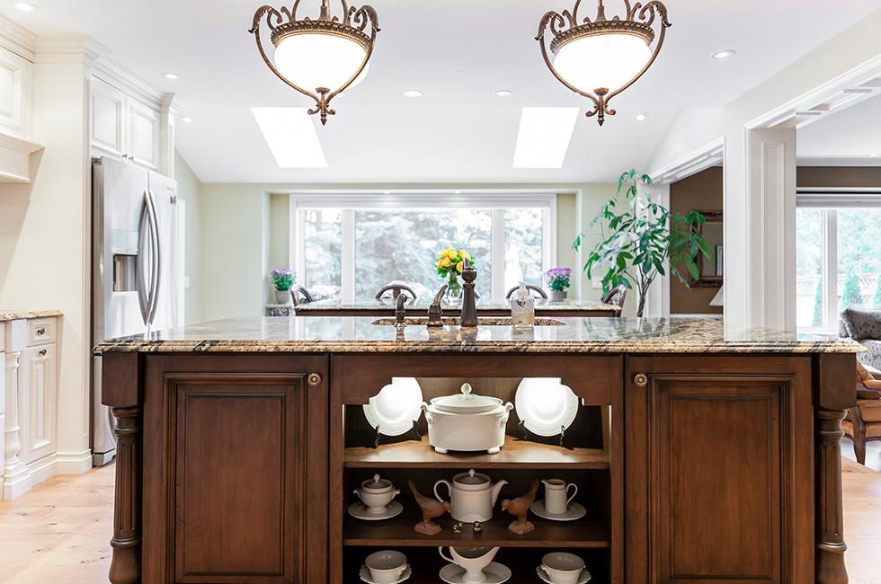 Kitchen storage solutions in kitchen design