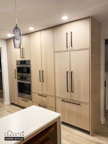 Integrated Fridge Custom Cabinetry