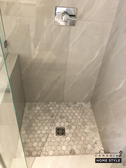Custom Shower with Schluter System