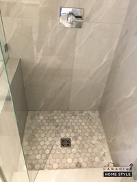 Custom Shower with Schluter System