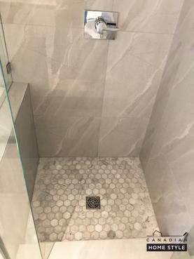Italian Marble Shower Floor