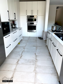 Porcelain Tiles for the Kitchen Floor