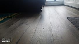 Brushed White Oak Flooring