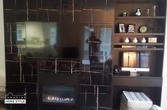 Fireplace Tile Work