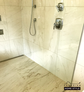 Custom Bathroom Tile Job