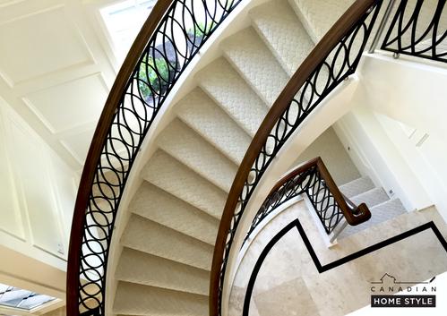 Fabrica Nylon Carpet - Stainmaster Nylon 6.6 Carpet on Stairs