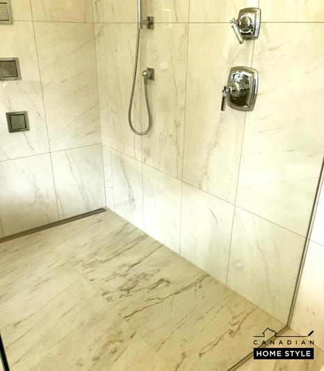 Bathroom Renovation with Custom Shower