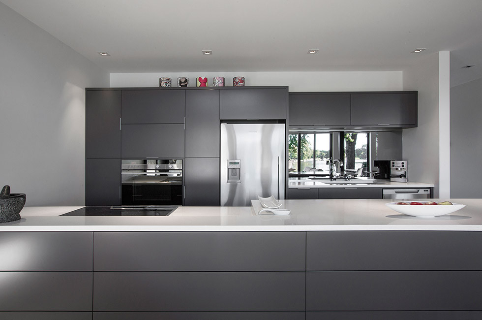 Back Kitchen Cabinets