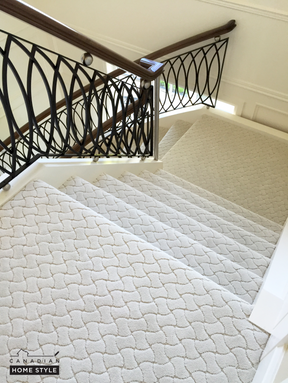 Fabrica Carpet on Stairs - Stainmaster Nylon