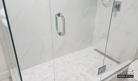 Linear Drain Shower