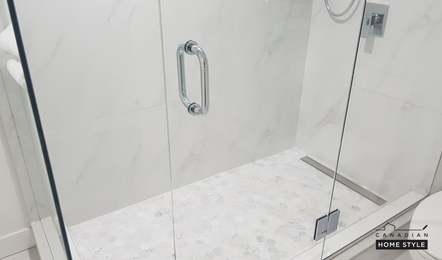 Linear Drain Shower