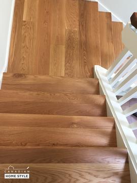 Custom Hardwood Stairs