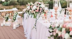 Blumen und Dekoration