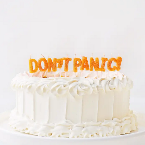 Don't Panic Candles