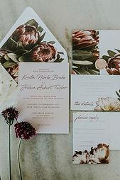 Proteas Floral Invite suite.JPG
