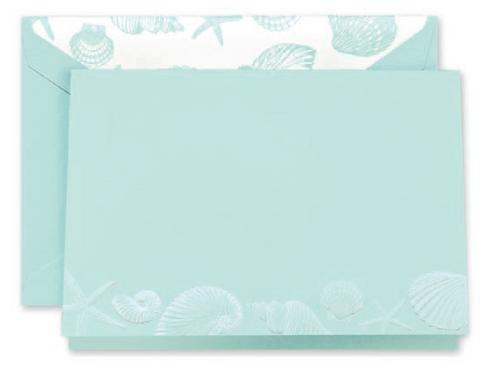 Engraved Sea Shells Notes