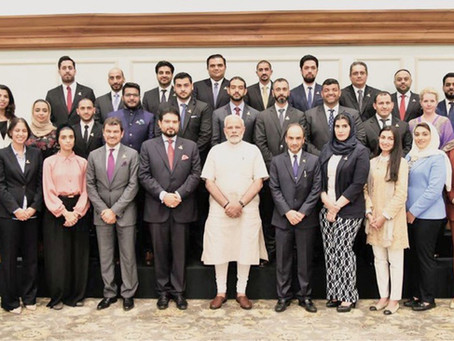 Phaze Ventures' COO Mohammed Al Wahaibi joins OCCI delegation visit with Indian Prime Minister