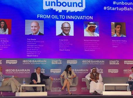 Phaze Ventures CEO speaks at Unbound Bahrain
